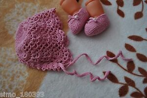 Handmade Crochet Newborn Hat and Booties All Seasons Dressy Holiday