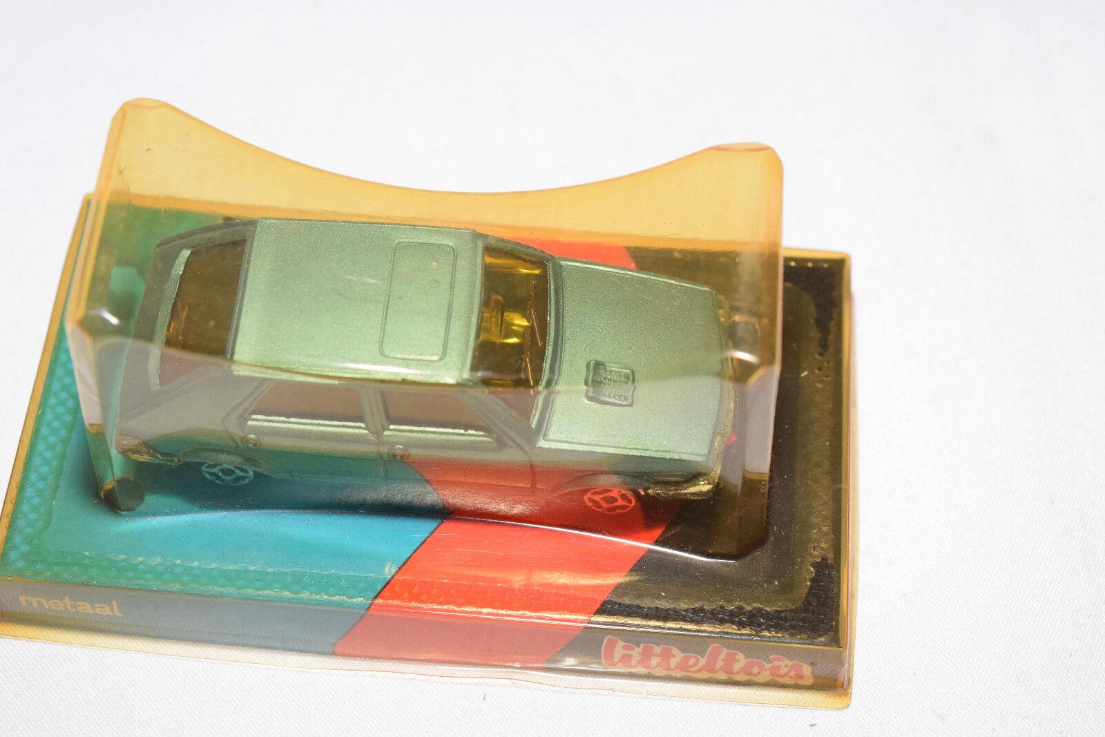 LITTELTOIS 432 NOREV FIAT RITMO RITMO RITMO METALLIC LIGHT blueE MINT BOXED RARE SELTEN RARO 60c21a