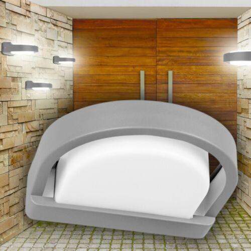 Applique argentée Design Lampe murale Lampe de jardin Luminaire extérieur 129426
