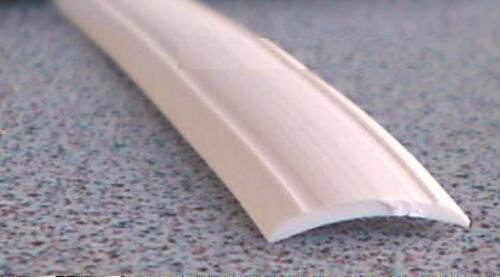 Leistenfüller für Kederschiene Profil weiß Neu Gummiprofil 12mm 25 M.≙1,04€//M