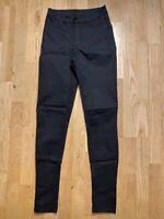 Jeans, H&M, str. 34, Sort , Næsten som ny