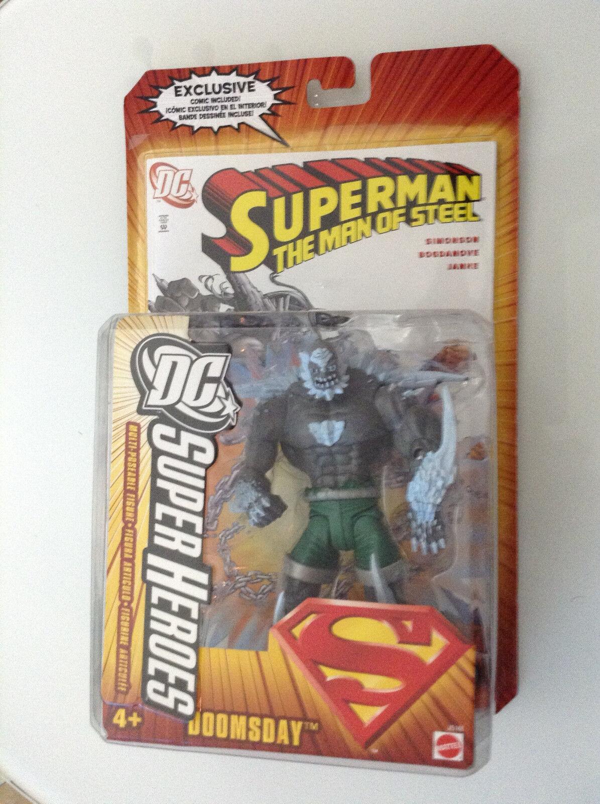 DC súper Heroes del fin del mundo clásico figura S3 seleccione esculpir Nuevo (Universo súperman 1