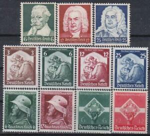 Nazi-Germany-3rd-Reich-1935-4-Complete-Sets-MINT