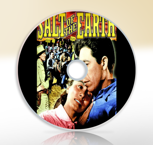 Salt Of The Earth (1954) DVD Classic Historical Drama Movie / Film Will Geer