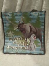 Disney Frozen Olaf and Sven Reusable Tote Gift Shopping Bag