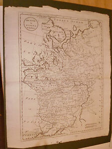 100 Original Russia In Europe Moscow Map By T Bowen C1790 Vgc Free