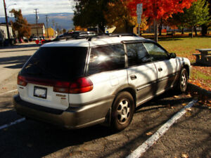 1996 SUBARU OUTBACK LEGACY WAGON AWD 2.5L WELL MAINTAINED CAR