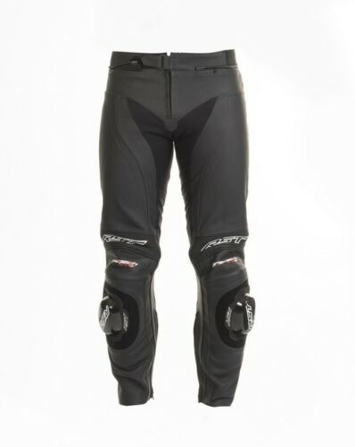 Black RST 1444 Tractech Evo 2 Motorcycle Motorbike  Leather Armoured Trousers