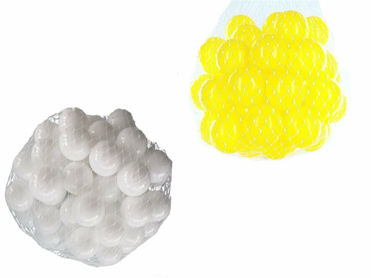 100-10000 Piscina de bolas pelotas 55mm MIX yellow whiteo Mixto colors BABY