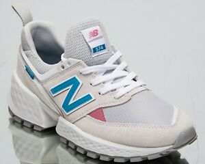 Details about New Balance Womens 574 Sport White Lifestyle Low Top Sneakers  WS574-PRA