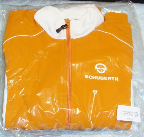 Schuberth rare shirt polaire Soft Shell Orange Veste full zip original genuine