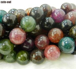 6mm-Dream-Dragon-Vein-Agate-Gems-Round-Loose-Beads-15