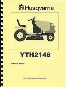 husqvarna yth2148 manual