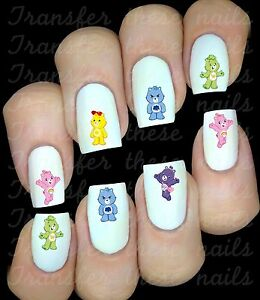 BISOUNOURS-Autocollant-Stickers-ongles-nail-art-manucure-water-decal