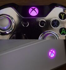 Xbox one controller PINK LED x5 LEDs  / RF board power LED / Guide Home button