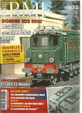 """RMF N°532 DOSSIER : 2D2 5500 / NOUVELLES """"DANSEUSES"""" JOUEF ET CEREALIER NG JOUEF"""
