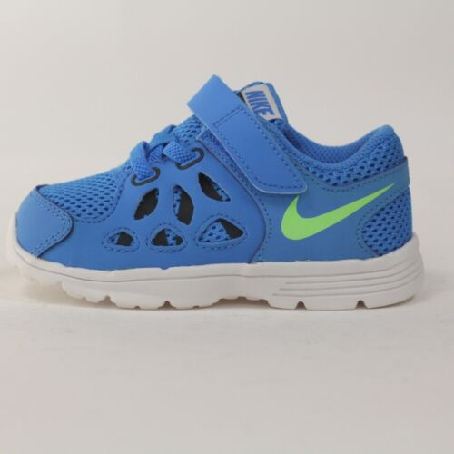 NEW AUTHENTIC Blue//Lime//White 599803-400 Nike Fusion Run 2 TD
