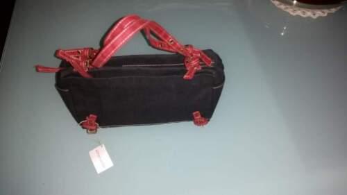 Sac tissu noir nouveaux en profils avec jean rouges WPPn4UcZ