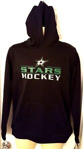 DALLAS STARS Youth Hoodie Large 14 16 or XL 18 Black Soft Shell ... a51eaad8e