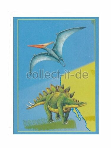 Nº 82 PANINI STICKER-dinosaure comme moi!