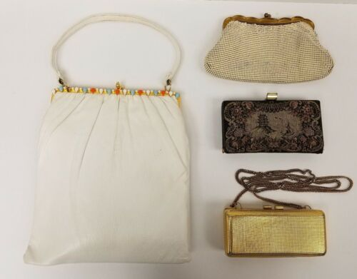 VINTAGE PURSE LOT WHITTING AND DAVIS INGBER AND MO