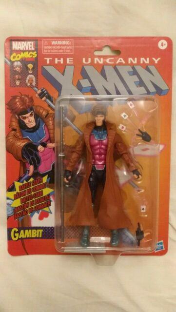 """MARVEL LEGENDS UNCANNY X-MEN RETRO COLLECTION GAMBIT 6"""" Action Figure"""