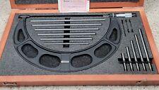 Starrett 224 Interchangeable Anvil Micrometer 6 12 Inc