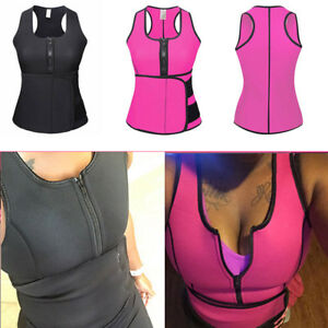 27967a3739 Image is loading Plus-Size-Shapewear-Weight-Loss-Neoprene-Sauna-Vest-