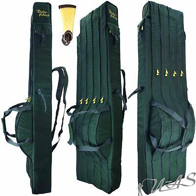 Daiwa Cormoran Karpfen Futteral 5055 Ruten Tasche für 6 Ruten Taschen 1,90M Kva