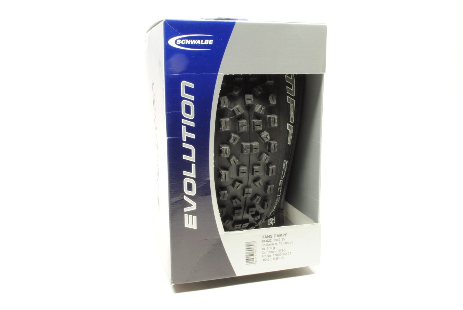 Schwalbe  Hans Dampf Folding Bicycle Tire 29x2.35  the classic style