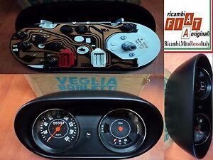 Quadro-Strumentazione-Contachilometri-Fiat-127-Instrument-panel-Speedometer