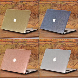 san francisco eb695 422dd Glitter Pink/ Gold/ Silver Bling Shiny Matte Case for MacBook Air ...