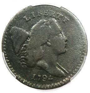 1794-Liberty-Cap-Flowing-Hair-Half-Cent-1-2C-C-7-R5-Variety-PCGS-Fine-Detail