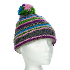 627f01315b2 Norton Woollen Beanie Hat With Bobble - Wine One Size for sale ...