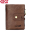 Men-Women-Genuine-Leather-Cowhide-Trifold-Wallet-Credit-Card-ID-Holder-Purse-New thumbnail 14