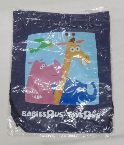 """Babies R Us Geoffrey the Giraffe Drawstring Gym Style Bag 16/"""" Toys R Us"""