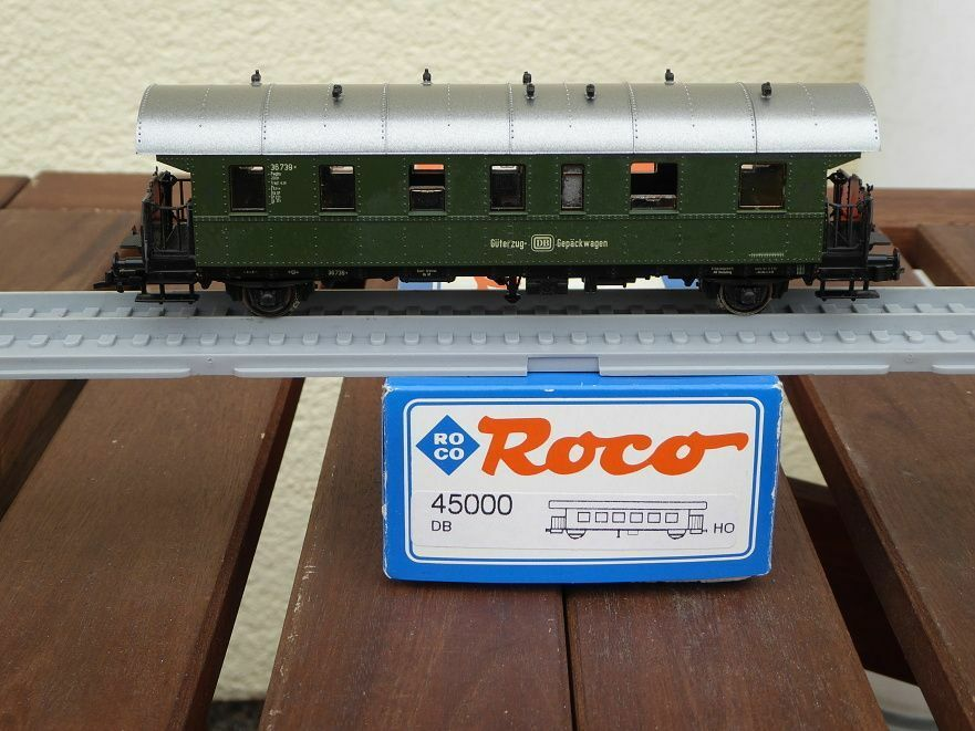 Roco 45000 Freight - Baggage Car Pwghs , Roco-Club-Sondermodell DB Ep. 3 Used