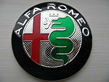 Alfa Romeo 147 156 159 166 mito rear badge emblem new