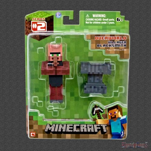 Minecraft Series 2 Overworld 3IN Overworld Villager FABBRI