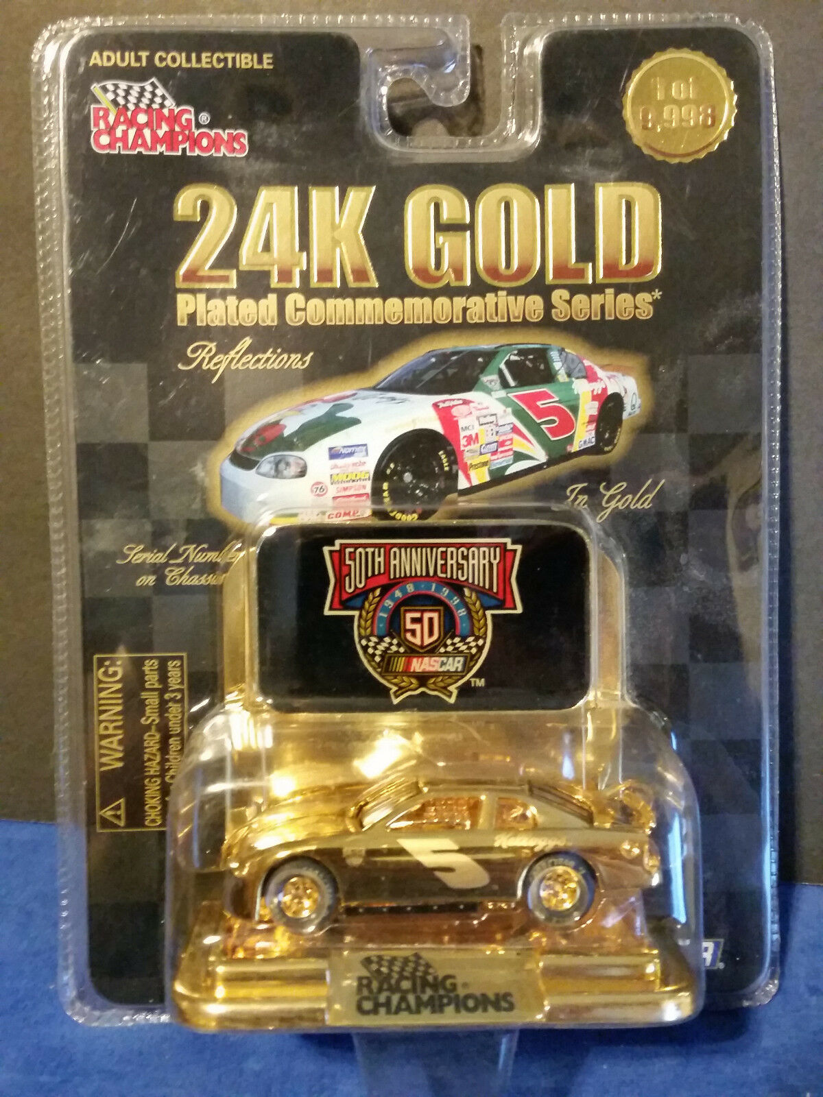 RC 24K gold Reflections Terry Labonte Chevrolet Monte Carlo Kellogg's