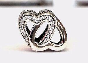a87f66c38 Authentic Pandora Entwined Love Charm W/ Pandora TAG & BOX #791880CZ ...