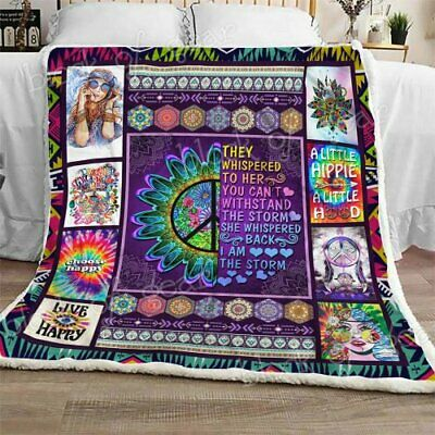 I Am The Storm Sofa Fleece Blanket 50-80 Hippie