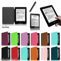 Fintie Amazon All-new Kindle Paperwhite 6 Leather Cover Case+ Screen Protector