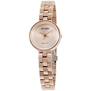 Citizen-Eco-Drive-Women-039-s-EW5503-83X-Ambiluna-Rose-Gold-Tone-25mm-Watch
