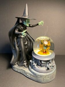 Wizard-of-Oz-FRANKLIN-MINT-WICKED-WITCH-Figure-amp-Globe-in-Original-Package-1995