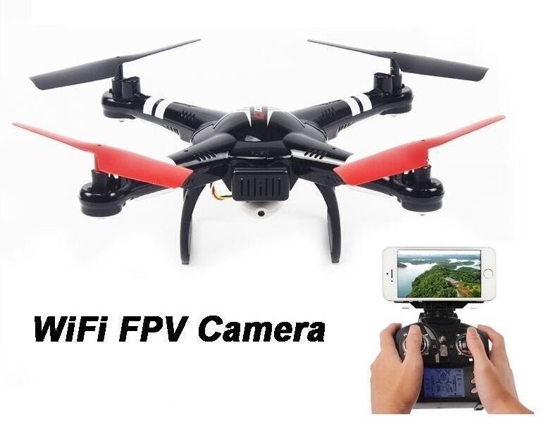 Drone Drone Drone Quadricottero  4 CH 2,4 GHZ giroscopio Q222K FPV WIFI c8c7d5