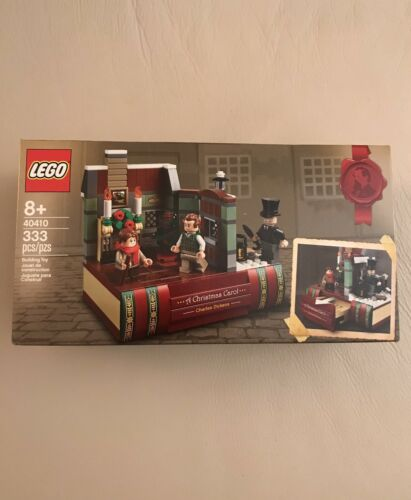LEGO 40410 Charles Dickens A Christmas Carol tribute Exclusive        New Sealed
