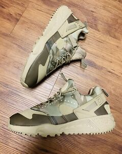 Rare Nike Huarache Utility Beige Travis Brown 26cm Men's Shoes Size 8 806807-200