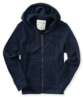 Aero Aeropostale Mens Full Zip Marled Hooded Knit Sweater 3xl