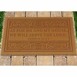 Image Is Loading Best Door Mat 034 As For Me And